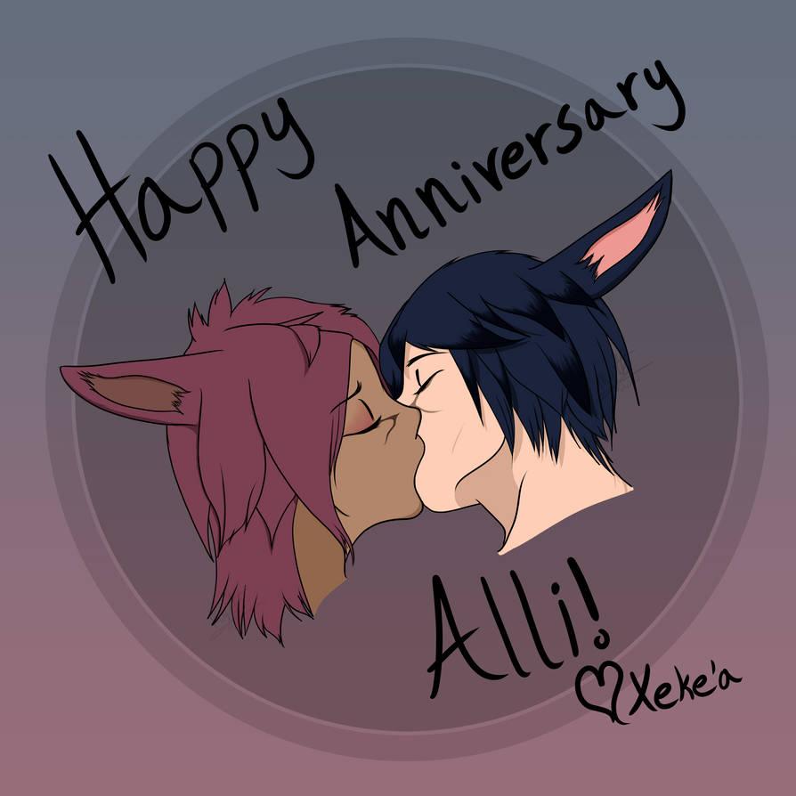 Alli and Xeke'a 2nd Anniversary!