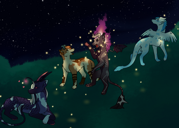Catching fireflies [Kebanzu]