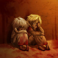 Bakura and Marik - Lost Innocence by AngelLust155