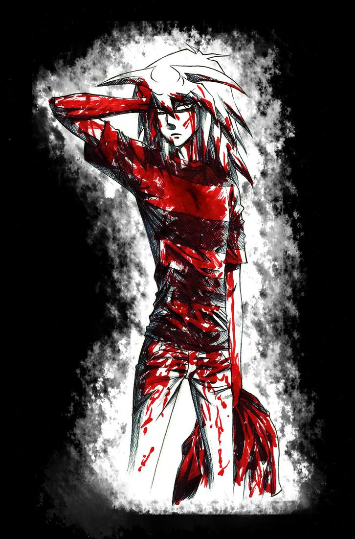 Bakura's bloody coat part 2 by AngelLust155