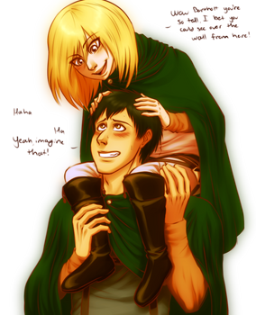 SPOILERS: Bertholdt and Christa