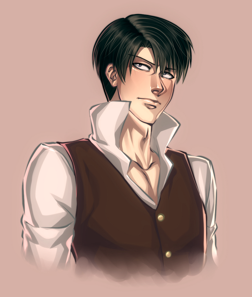 Levi before the Heichou by AngelLust155