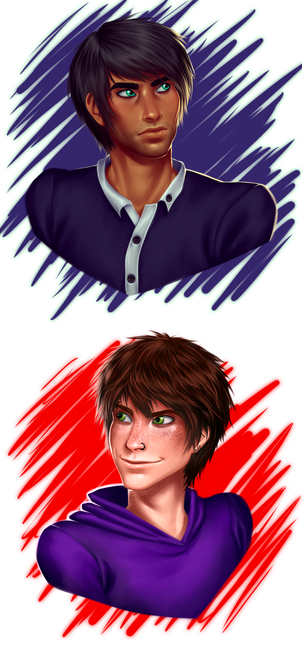 Mark and Aiden by AngelLust155
