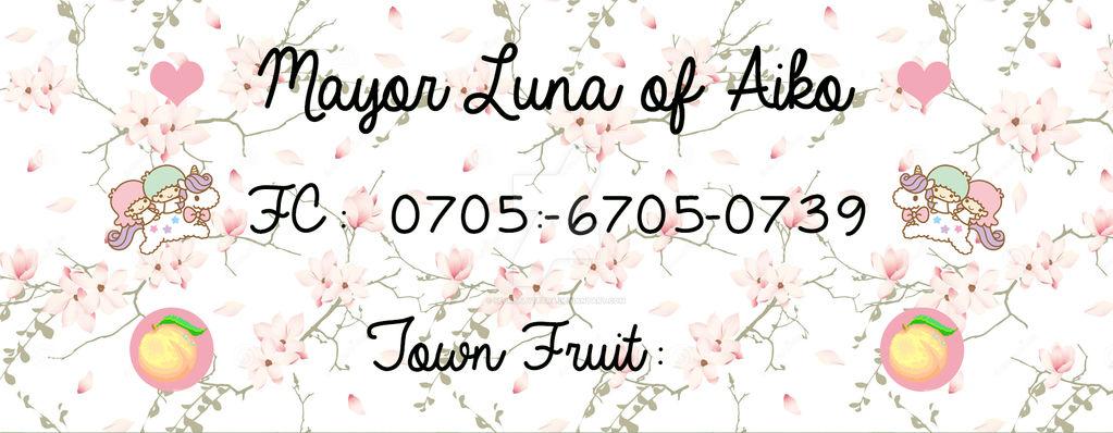 Acnl Kawaii Style Friend Code Card By Secretlytetra On