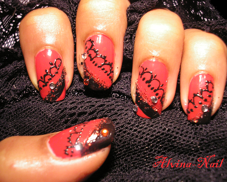 Moulin rouge by alvina-nail on DeviantArt