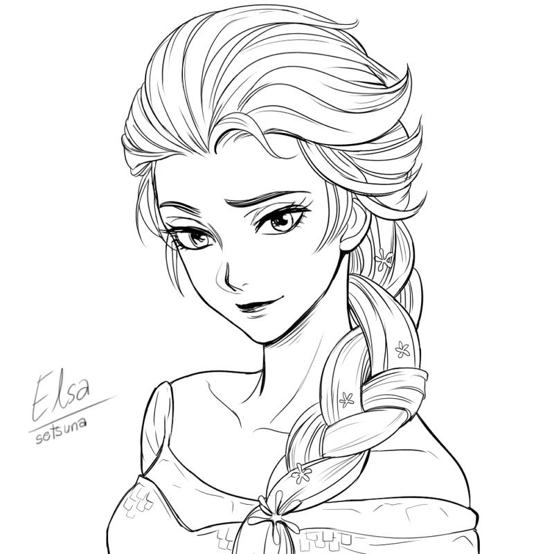 Frozen  Elsa by setsuna1111 on DeviantArt