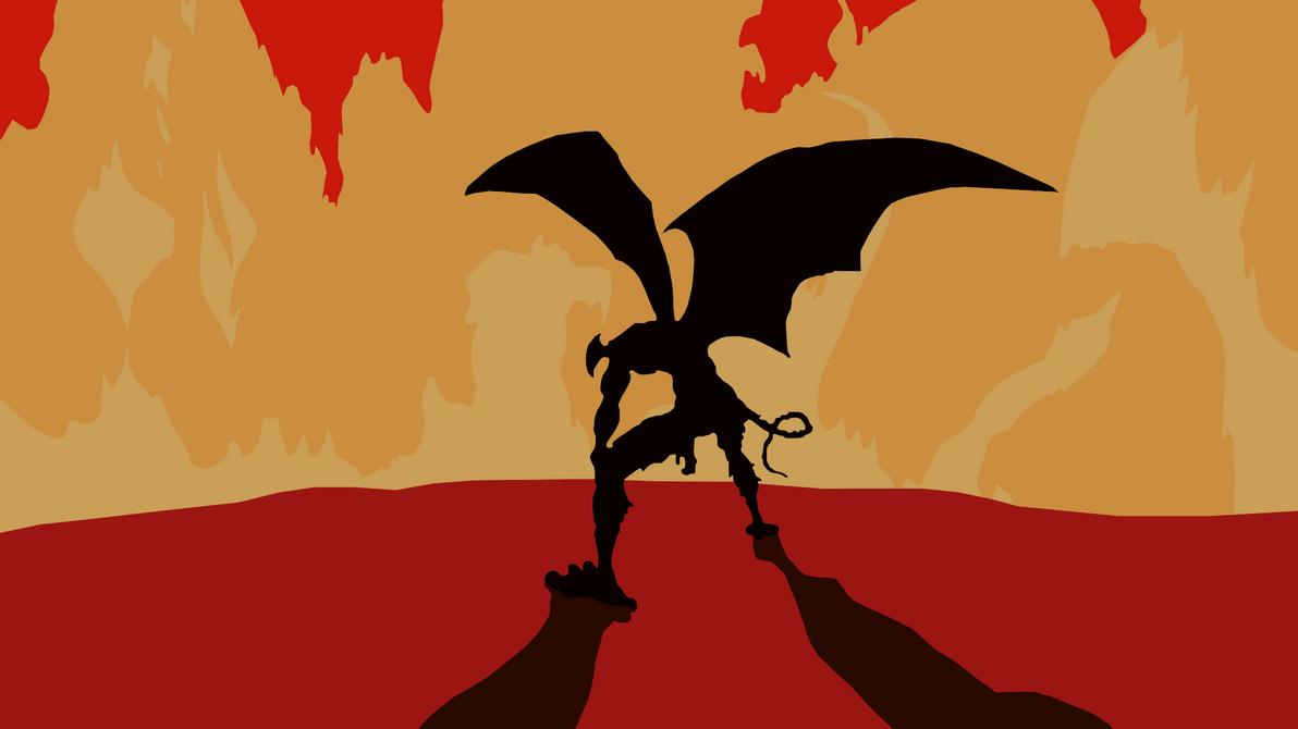 Devilman Crybaby Minimalist Wallpaper Akira By Sharkjumps On Deviantart
