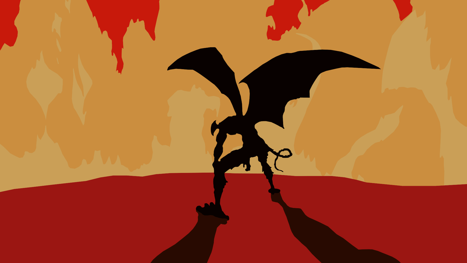 Devilman Crybaby Minimalist Wallpaper Akira By Sharkjumps On Deviantart
