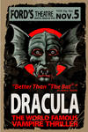 Dracula-Ford's Theater Poster