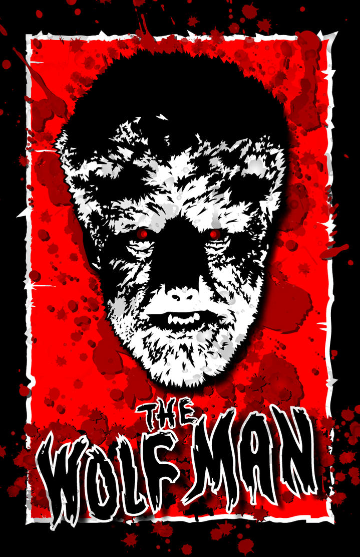 The Wolfman-1941-Lon Chaney Jr by 4gottenlore