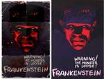 Frankenstein-Replica poster