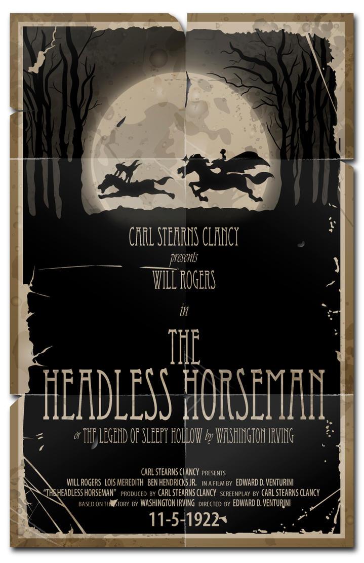 The Headless Horseman-1922 by 4gottenlore