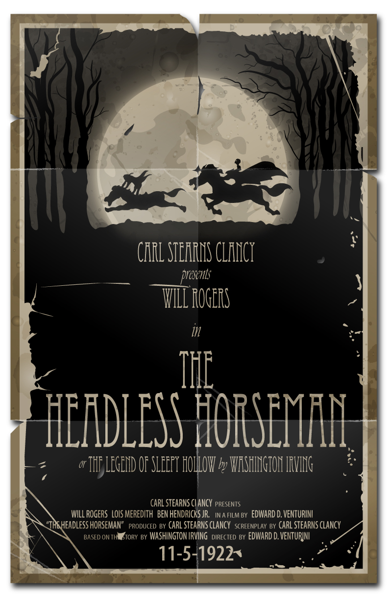 The Headless Horseman-1922 by 4gottenlore