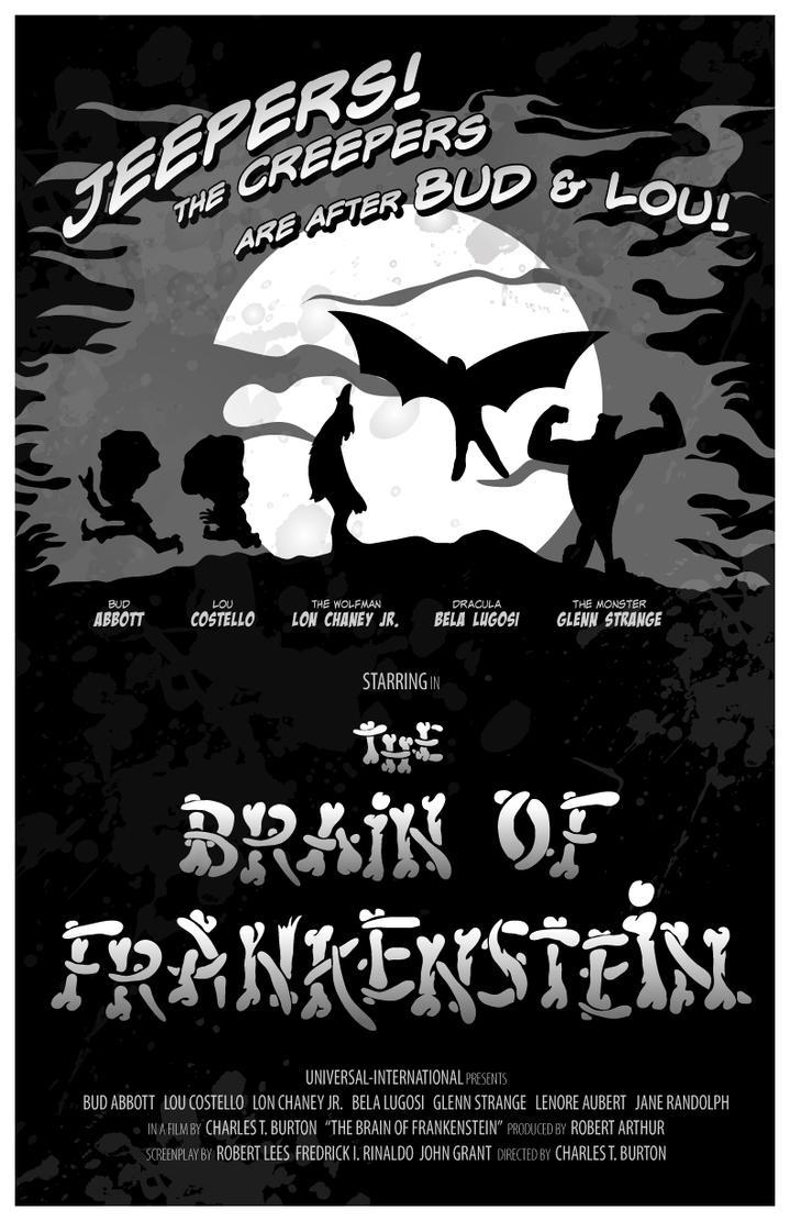 The Brain of Frankenstein-1948 by 4gottenlore