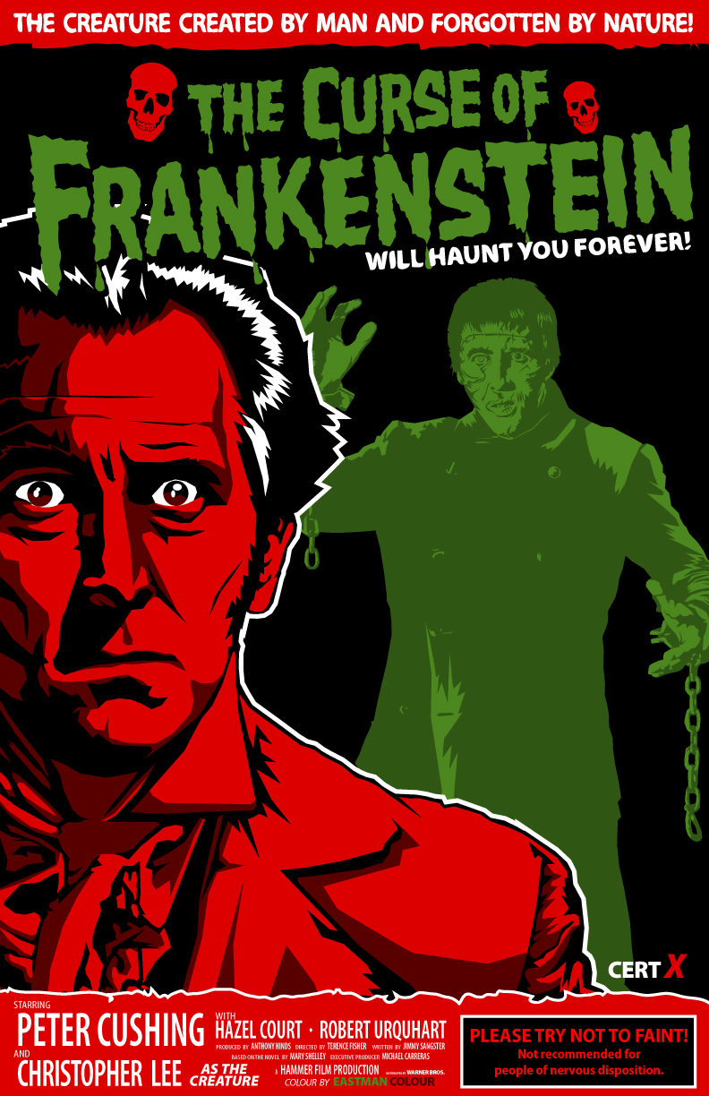 The Curse of Frankenstein-1957 by 4gottenlore