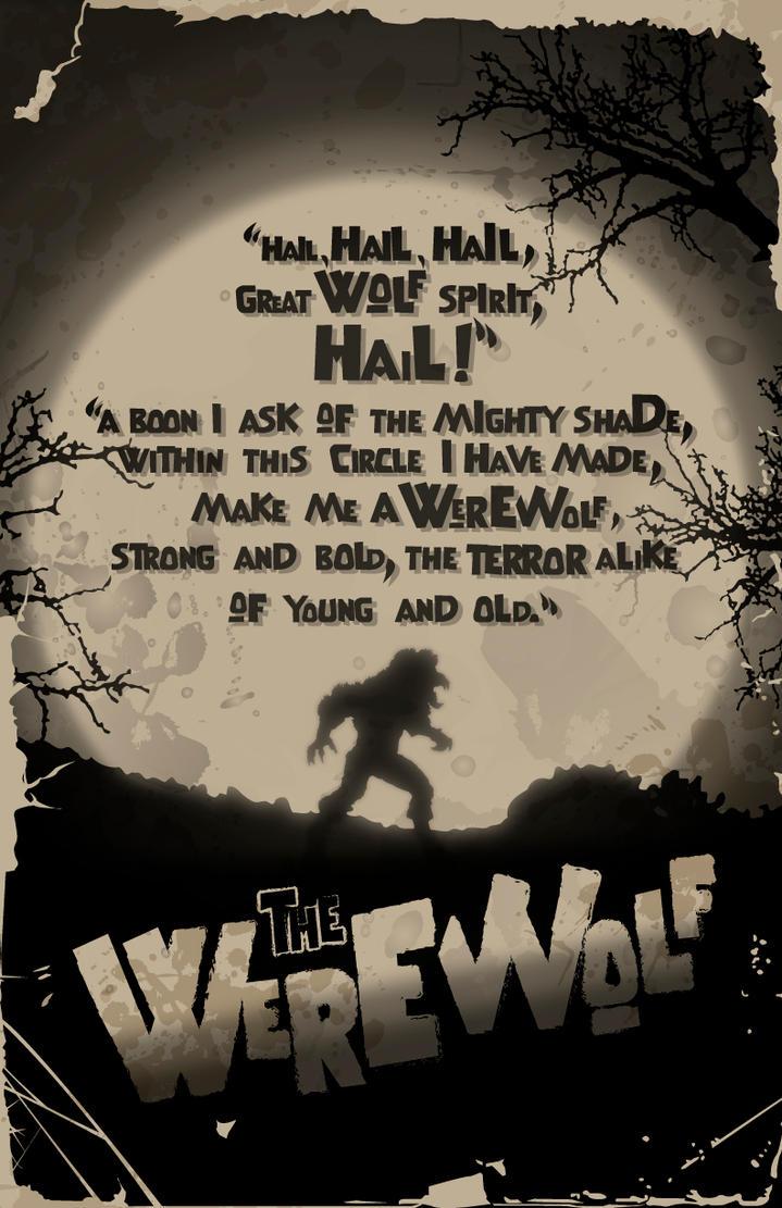 The Werewolf Spell by 4gottenlore