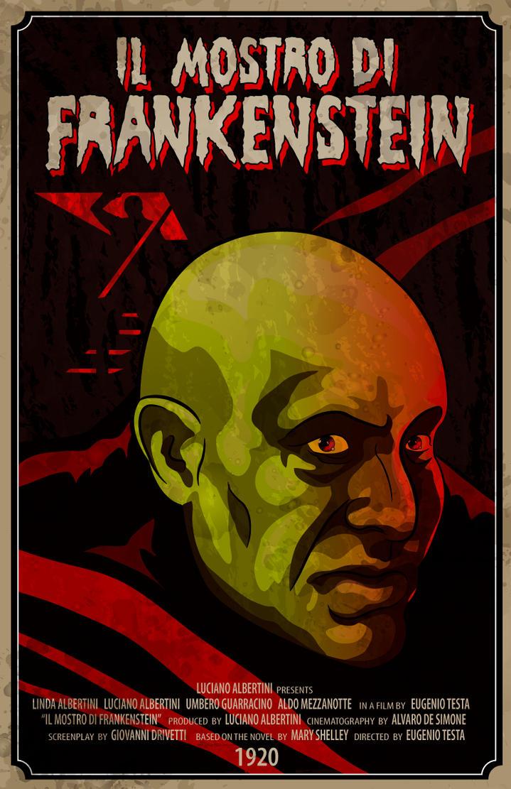 Il Mostro di Frankenstein 1920 by 4gottenlore