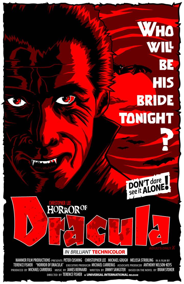Horror of of Dracula-1958 by 4gottenlore on DeviantArt