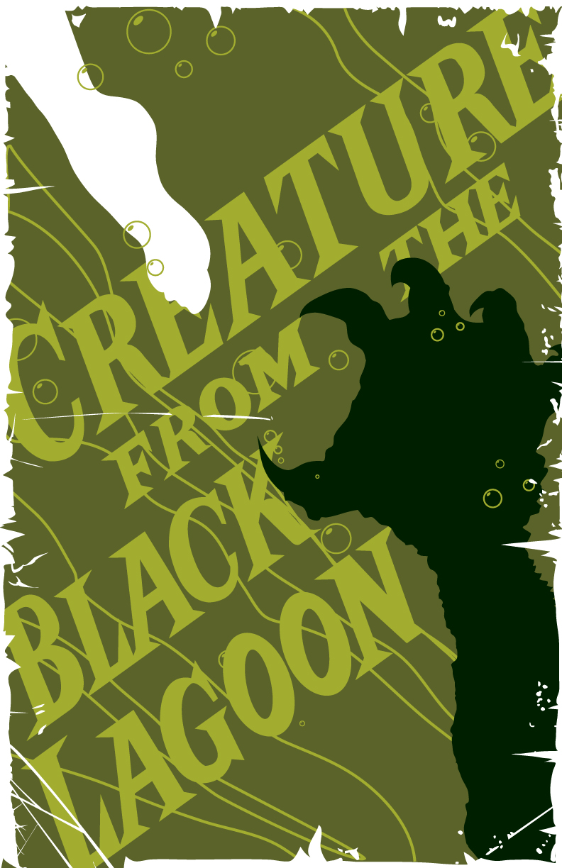 Creature from the Black Lagoon by 4gottenlore