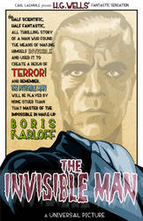 The Invisible Man- Karloff