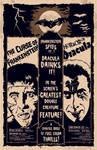 Dracula-Frankenstein Poster
