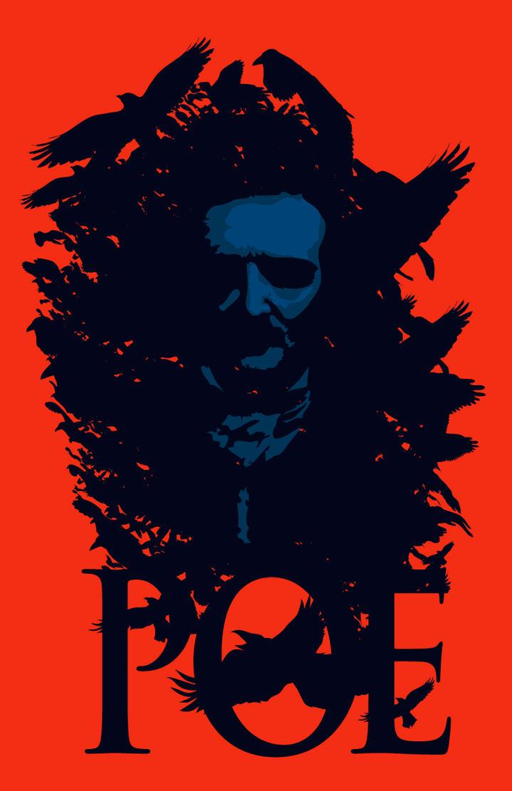 Edgar Allan Poe-Portrait by 4gottenlore