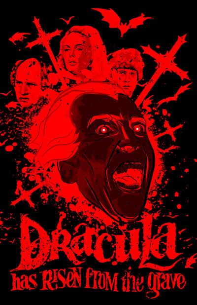 Dracula Has Risen from the Grave (1968 Film) by 4gottenlore