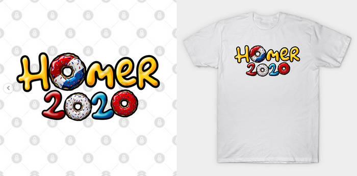 Homer Simpson 2020