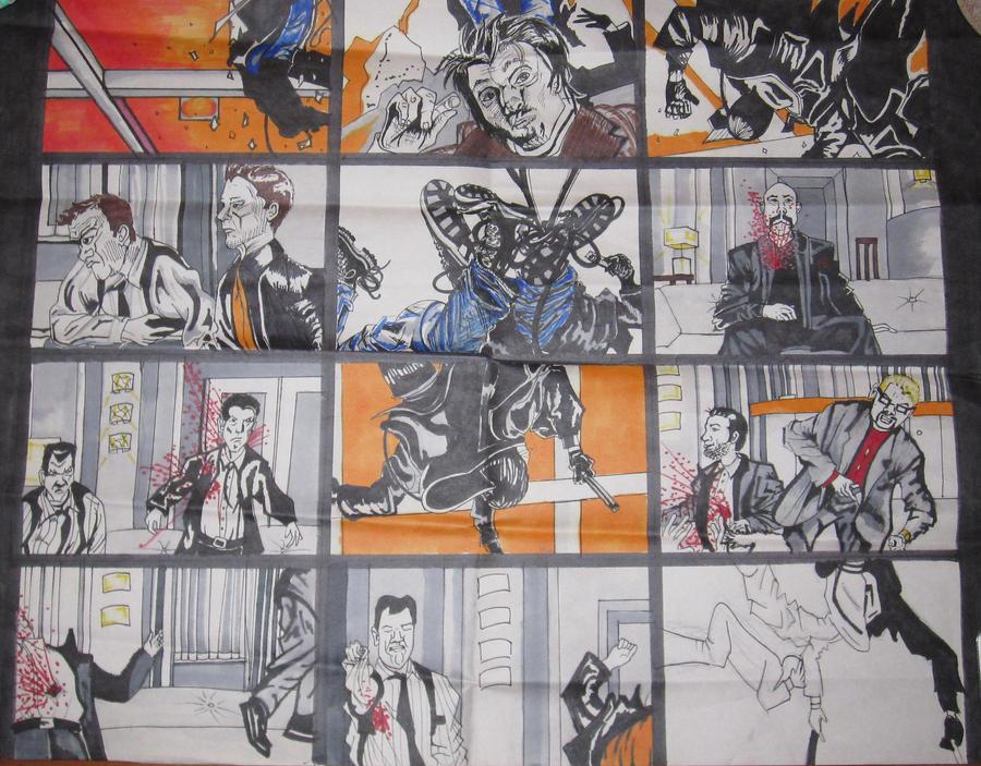 Boondock saints storyboard by frogkisser on deviantart - Boondock saints cartoon ...