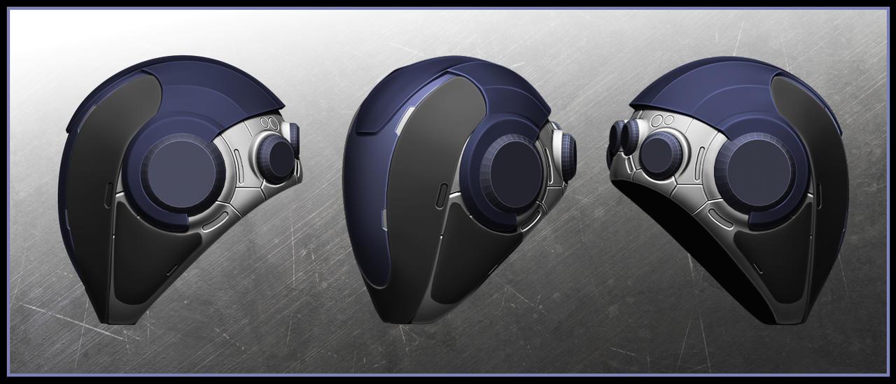 zBrush hard surface WIP - Helmet by VladimirAranovich