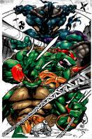 Teenage Mutant Ninja Turtles by etherealstudios2000