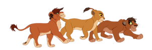 The Royal Cubs by Neo-Kyuubi-no-Yoko