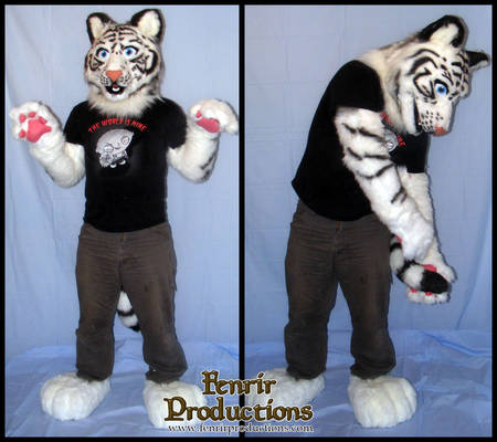 Toony White Tiger Partial