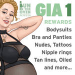 Pregnant Gia Art Rewards 1 for my Patrons by nickonthedraw