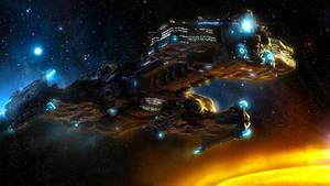 Battlecruiser - I by Gelvuun