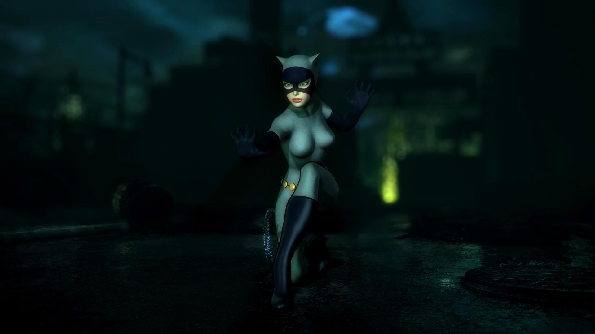 Batman: Arkham City - Catwoman by Gelvuun on DeviantArt