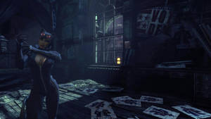 Batman: Arkham City - Catwoman I by Gelvuun