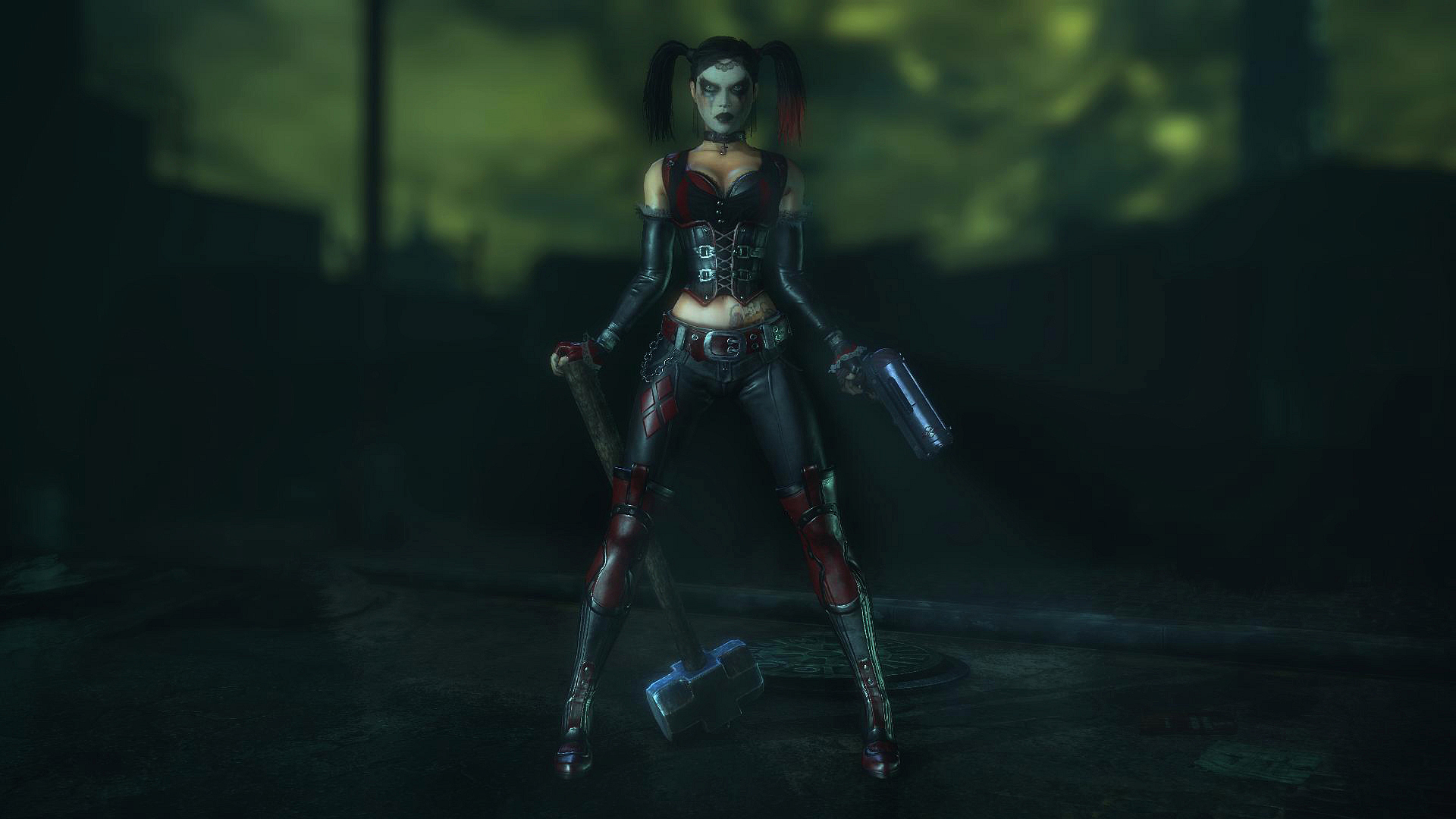 Batman: Arkham City - Harley Quinn I by Gelvuun on DeviantArt
