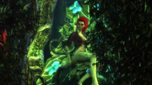 Batman: Arkham City - Poison Ivy by Gelvuun