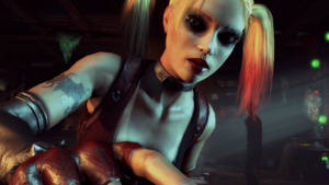 Batman: Arkham City - Harley by Gelvuun
