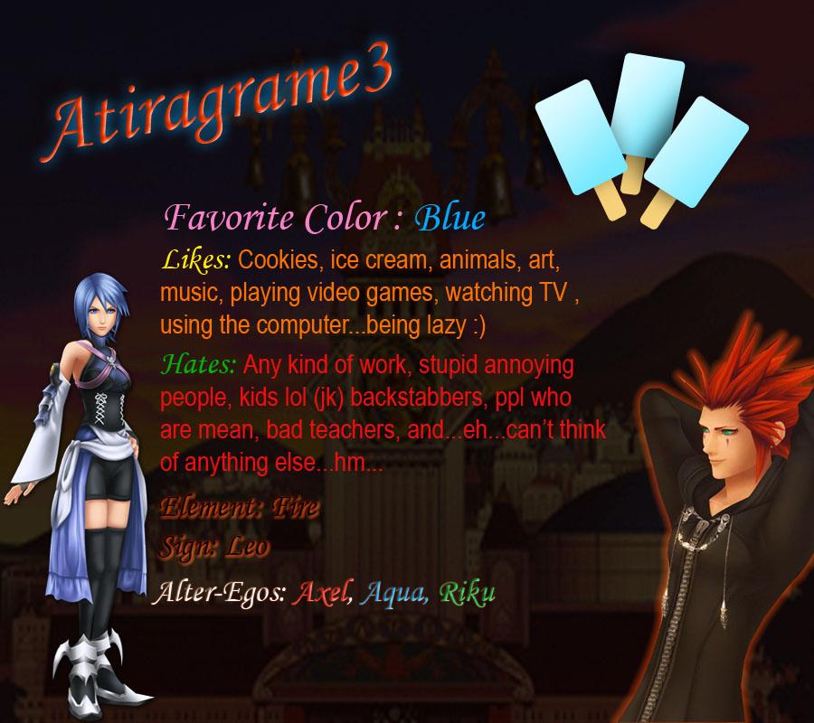 Atiragrame3's Profile Picture