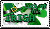 Luck of the Irish Stamp by apexigod