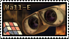 Wall-E Stamp by apexigod