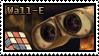 Wall-E Stamp by apexigod