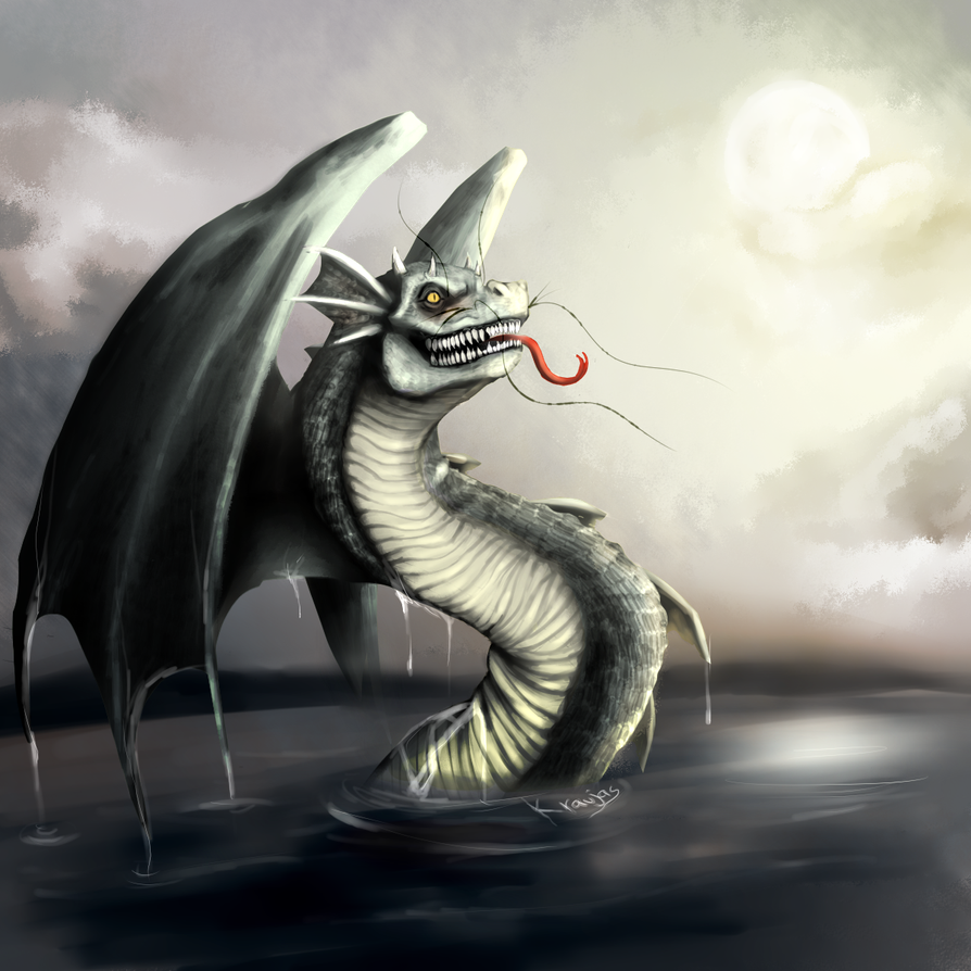 Bakunawa ~ The Moon Eating Water Dragon Picture, Bakunawa ~ The ...