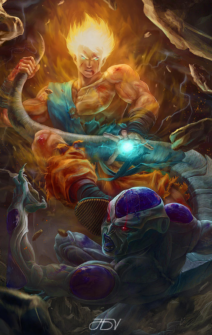 Battle On Namek by JoseDalisayV
