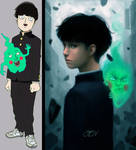Shigeo and Dimple (MOB PSYCHO 100)