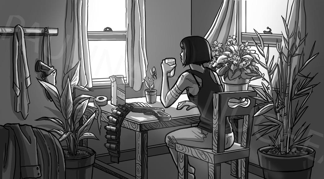 Sunday Morning by Digital-Tea