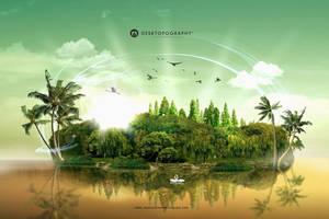 Island Paradise by zepaulo