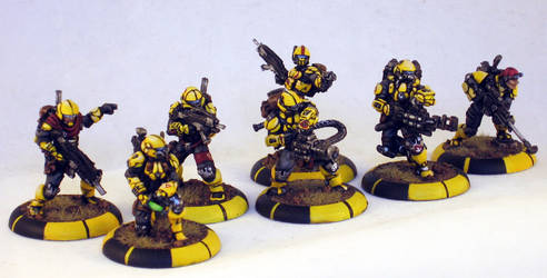 MERCS CCC Yellowjackets